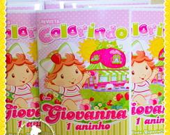 Revista Personalizada Moranguinho Baby