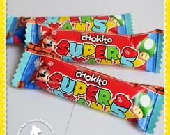 Chocolate Chokito personalizado Mario