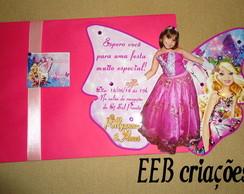 Convite da Barbie