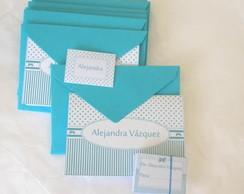 Kit cart�es: Proven�al Azul