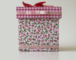 Caixa D�lia Rosa