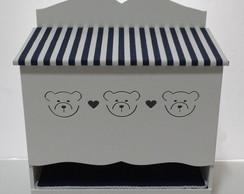 Porta Fraldas Urso