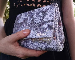 Clutch Paet� Brilho Intenso