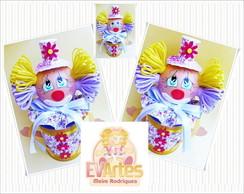 Latinha decorada tema circo