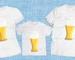 Kit 3 pe�as Fam�lia I love / Cerveja