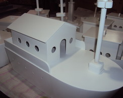 Barco decora��o festa marinheiro