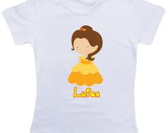 Camiseta Infantil Bela