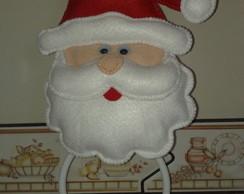 Suporte para pano de prato Papai Noel
