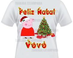 Camiseta Feliz Natal Vov�