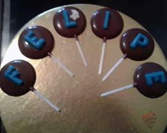 Pirulitos Chocolate