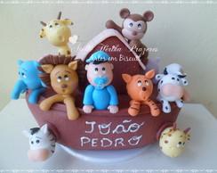 Topo de bolo Arca de No�
