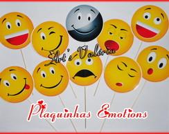 Plaquinha para foto Emotion - Pre�o uni