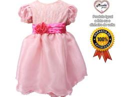 Vestido Rosa e Pink