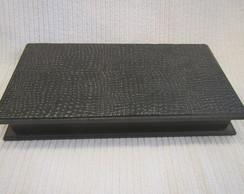 Caixa Escrit�rio Textura Couro
