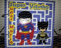 �lbum argolas Super Heroi