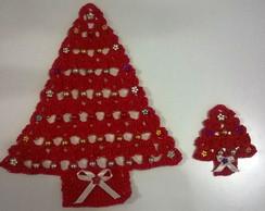 Conjunto �rvore de Natal em Croch�