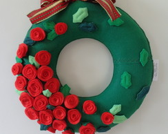 Guirlanda de Natal Rosas