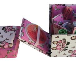 Caixa De Costura Em Cartonagem Completa