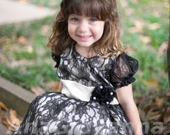 Vestido Infantil de Luxo