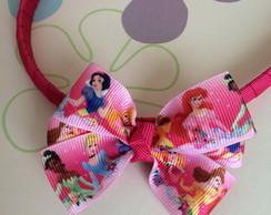 Tiara Pink La�o Princesas Disney MD