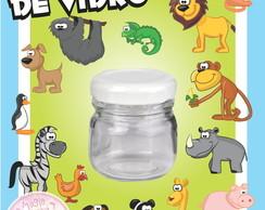 Potinho de Vidro - Animais