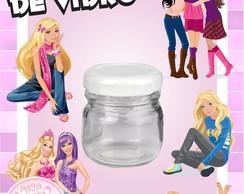 Potinho de Vidro - Barbie