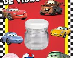 Potinho de Vidro - Carros Disney