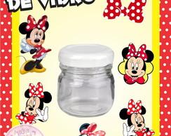 Potinho de Vidro - Minnie Vermelhinha