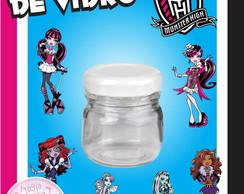 Potinho de Vidro - Monster High
