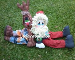 Noel e Rena Encostados