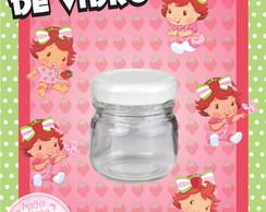 Potinho de Vidro - Moranguinho Baby