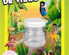 Potinho de Vidro - Tinker Bell Sininho
