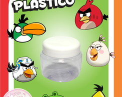 Potinho de Pl�stico - Angry Birds