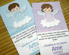 Cart�o Batizado - santinho