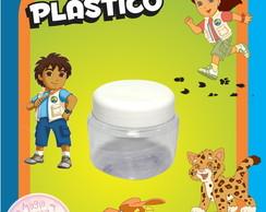 Potinho de Pl�stico - Go Diego Go