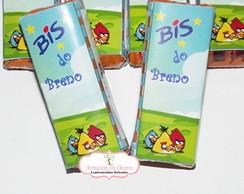 R�tulo adesivo para Bis - ANGRY BIRDS