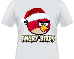 Camiseta Angry Birds Natal