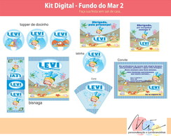 Kit Digital Fundo do Mar 1