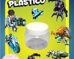 Potinho de Pl�stico - Max Steel