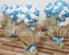 Topi�ria Azul e Branco