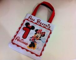 Sacolinha personalizada Minnie