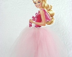 Tubetes decorados Barbie Sapatinhas Mag