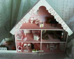 Casinha de Boneca Mobiliada Personalizad