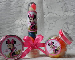Kit Minnie rosa C/60 unidades