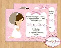 Convite Primeira Comunh�o - La�o