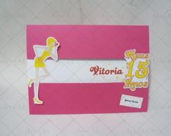 Convite 15 Anos Dolls