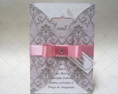 Convite Envelope Impresso Med