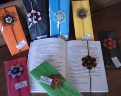 Marcador de p�gina/el�stico flores