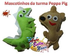 Mascotinho Peppa Pig