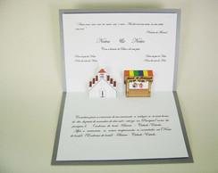 Convites de Casamento - c�d.20103p